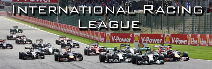 Таблица International Racing League